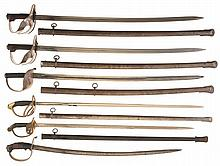 Six Solingen Produced Swords