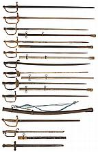 Twelve Swords, Mostly American/Fraternal Styles