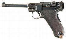 Scarce DWM Portuguese Army Contract Model 1906 Luger M2 Semi-Automatic Pistol