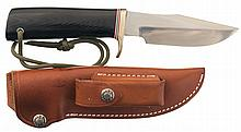 Randall Made Model 8 Trout and Bird Knife with Sheath
