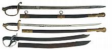 Three American-Style Swords