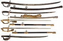 Five American-Style Swords