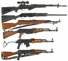 Six Long Guns -A) European SKS Rifle