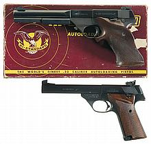 Two High Standard Semi-Automatic Pistols -A) High Standard Model S-101 Supermatic Pistol with Box