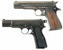 Two European Semi-Automatic Pistols -A) Star Model A Pistol