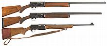 Three Belgium Browning Semi-Automatic Long Guns -A) Browning Auto 5 Shotgun