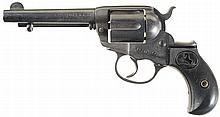 Colt Model 1877 Lightning Double Action Revolver with American Express Co. Marking