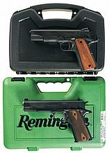 Two Semi-Automatic Pistols with Cases -A) Rock Island Armory Model M1911-A1 FS Pistol