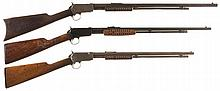Collector's Lot of Three Winchester Slide Action Rifles -A) Winchester Model 1890 Rifle