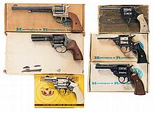 Six Revolvers with Boxes -A) Harrington & Richardson Model 676 Double Action Revolver