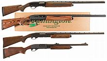 Four Shotguns -A) Winchester Model 1400 Semi-Automatic Shotgun