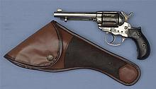 Colt Model 1877 Lightning Double Action Revolver with Holster