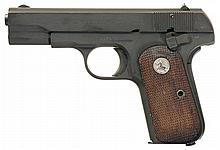 Documented U.S. Property Marked Colt Model 1903 Hammerless Semi-Automatic Pistol as Issued to Brigadier General Gerald C. Kelleher with SRS Papers, Leather GO Belt and Buckle, Holster and Magazine Pouch