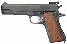 U.S. Colt Model 1911A1 National Match Style Semi-Automatic Pistol
