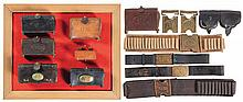 Grouping of U.S. Military Leather and Canvas Equipment Items