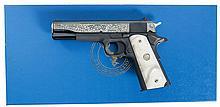Colt TALO Dia De Los Muertos Government Model 1911 Semi-Automatic Pistol with Box