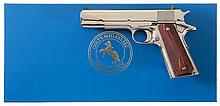 Colt Custom All Stainless Steel Government Model 1911 Semi-Automatic Pistol with Box