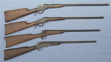 Four Single Shot Rifles -A) Stevens Favorite Model 1915 Rifle