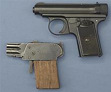 Two Handguns -A) Sauer & Son Model 1913/1919 Pistol