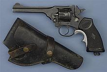 Webley & Scott Mark IV Double Action Revolver with Holster