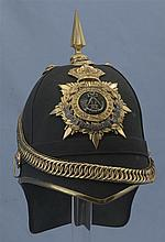Shropshire Light Infantry Officer's Home Service Helmet