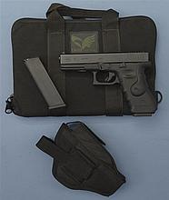 Glock Model 17 Semi-Automatic Pistol with Accessories