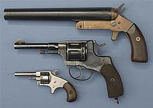 Two Revolvers and One Signal Pistol  -A) Remington Mark III Signal Pistol