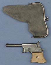 Copy of a Remington Vest Pocket Pistol with Purse Holster