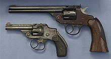 Two Double Action Revolvers -A) Iver Johnson Supershot Sealed Eight Revolver