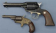 Two Revolvers -A) Ruger Bearcat Model Single Action Revolver