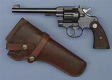 Colt Officers Model Double Action Revolver with Holster