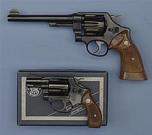 Two Smith & Wesson Double Action Revolvers -A) Smith & Wesson 44 Hand Ejector Second Model Revolver