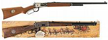 Two Winchester Model 94 Commemorative Lever Action Long Guns -A) Winchester Model 94 Theodore Roosevelt Commemorative Rifle