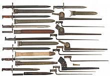 Fifteen American Bayonets