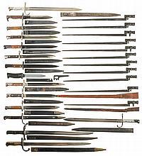 Twenty-Five Bayonets and a Knife