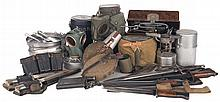 Collection of Assorted World War II Field Gear