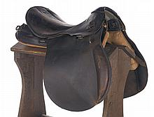 German WWII Saddle Size 3 with Stand