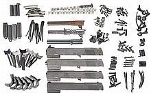 Handgun Components, Including Colt National Match Slides, Barrels and Parts
