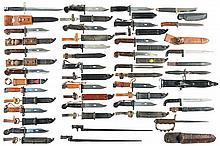 Twenty-Eight Bayonets and Edged Weapons