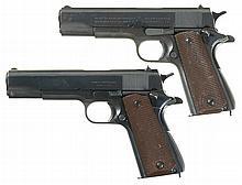 Collector's Lot of Two U.S. Military Model 1911A1 Semi-Automatic Pistols -A) U.S. Colt Model 1911A1 Pistol