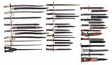 Twenty-Six Bayonets, Chiefly European