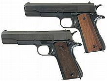 Two Model 1911 Semi-Automatic Pistols -A) Colt Model 1911AI Style Pistol with Argentine Navy Slide