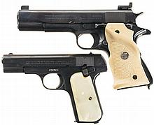 Two Colt Semi-Automatic Pistols -A) U.S. Colt Model 1911A1 Pistol