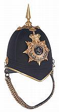 Queen's Own Royal West Kent Regiment Officer's Home Service Helmet