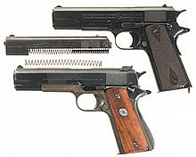 Two U.S. 1911 Style Semi-Automatic Pistols -A) U.S. Colt Model 1911 Pistol