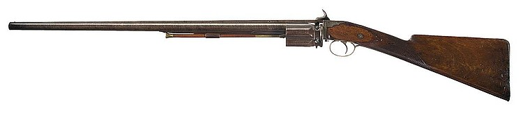 Rare Collier Revolving Percussion Shotgun