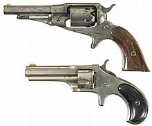 Two Remington Revolvers -A) Remington New Model Pocket Percussion Revolver