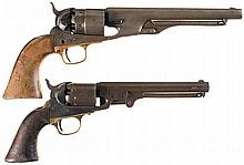 Collector's Lot of Two Percussion Revolvers -A) Colt Model 1860 Army Revolver