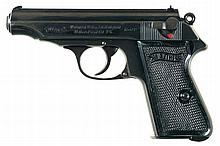 Scarce Pre-War Walther PP Semi-Automatic Pistol in 9mm Kurz