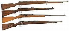 Four Bolt Action Military Long Guns -A) Koishikawa Type 46 Siamese Mauser